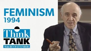 Has feminism gone too far? — with Christina Hoff Sommers and Camile Paglia (1994) | THINK TANK