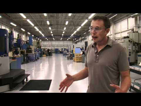 Elon's SpaceX Tour – Engines