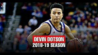 Devon Dotson Kansas Freshmen Season Highlights Montage 2018-19 - Derrick Rose Like Scoring!