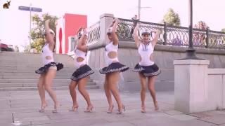 Опа-опа-опа-па  / Remix, electro. Креативные танцы людей в военной форме.