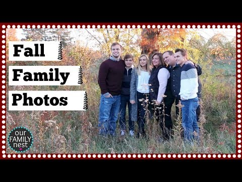 THEY ARE ALL GROWN UP!! FALL FAMILY PHOTO SESSION!