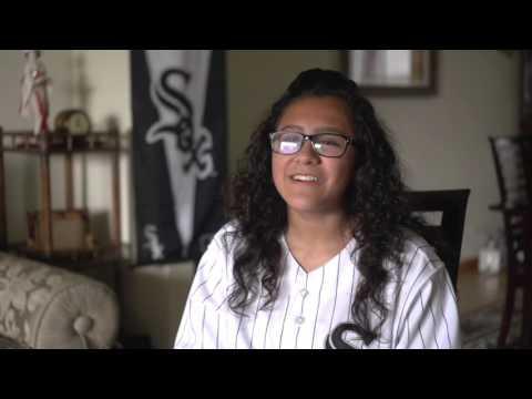 Alexei Ramirez surprises fan Sydney Ruiz