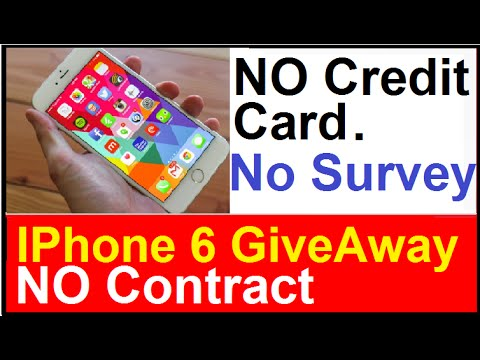 iphone 6 no contract free iphone 6 giveaway no credit card no survey to fill 2391