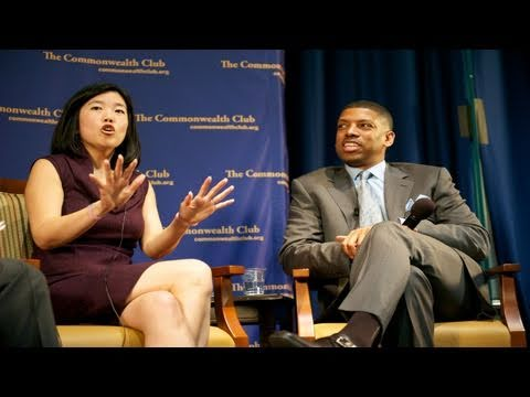 Michelle Rhee and Kevin Johnson (4/20/11)