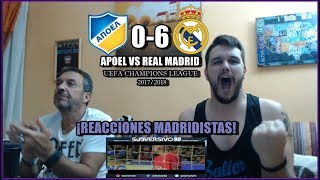 Download Video APOEL VS REAL MADRID 0-6 | REACCIONES | UEFA CHAMPIONS LEAGUE 21-11-2017 MP3 3GP MP4