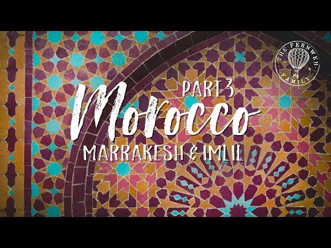 MOROCCO | Getting Lost in Marrakesh | Travel Family Vlog