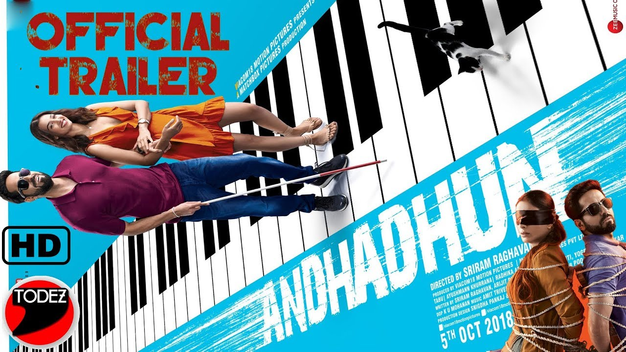 Andhadhun 2018 Cinema Cats