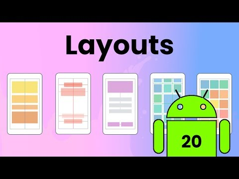Layouts In Android Studio | Android Tutorial #20