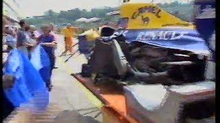 Riccardo Patrese Tamburello massive accident  1992