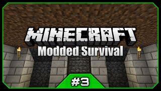 Stone Is Deadly! Massive Bird Invasion! || Python's Minecraft Modded Survival [Episode 3]