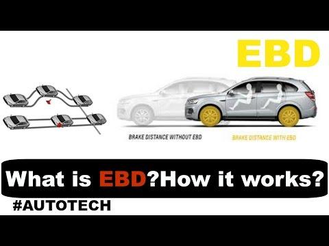 Electronic Brakeforce Distribution (EBD or EBFD) क्या है ? कैसे काम करता  है ? #AUTOTECH