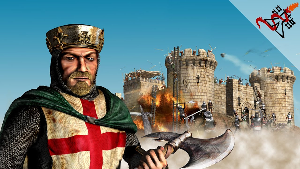 Stronghold Crusader - Mission 80 | The Big One! (Warchest Trail)