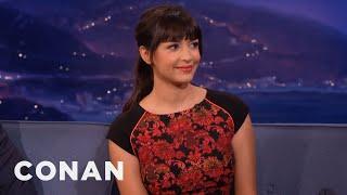 Hannah Simone Hates Tinder  - CONAN on TBS