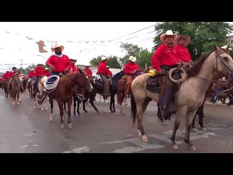 Cabalgata Sabinas 2017-Video Completo
