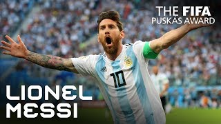 #puskasaward LIONEL MESSI GOAL - VOTE NOW!
