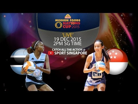 Netball: 3rd & 4th placing match | Mission Foods Nations Cup 2015