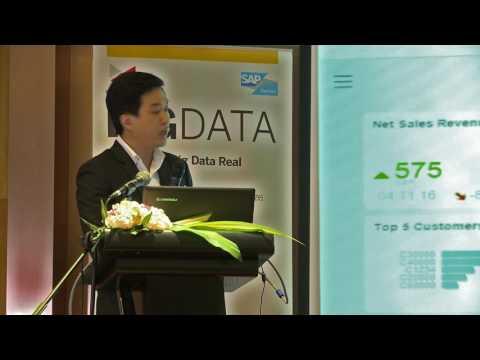 Business Analytics & Forecasting By Vanguard Myanmar.