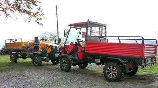 Katsu Bahçe Traktörü: Fındık Bahçelerinin Yeni Prensi   Katsu Mini Tractor: Powered by Mitsubishi
