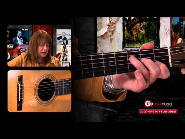 Acoustic Guitar Lesson - Fast Open Chord Changes - Fingerpicking - Guitar Tricks