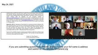 May 24 2021 East Whiteland Zoning Meeting