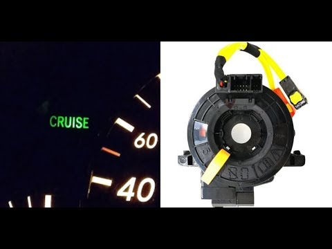 Как отремонтировать круиз-контроль своими руками на Toyota Rav-4 2007. Замена подрулевого шлейфа.