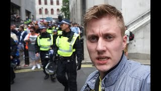 EDL march in London 24th June