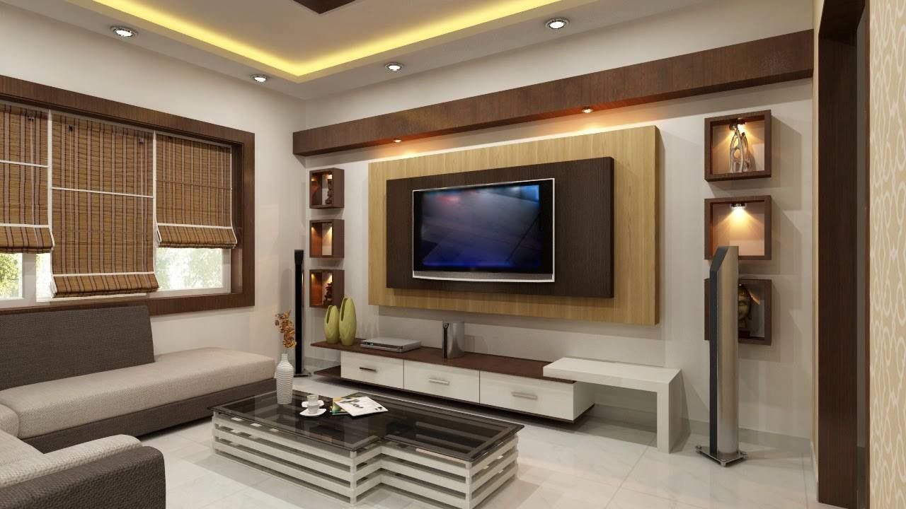 Modern tv cabinet for bedroom living room latest designs - Cupboard interior designs in bedrooms ...