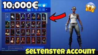 I HAVE THE RARE 10,000€ ACCOUNT IN FORTNITE (Recon Expert, Ghoul Trooper, Renegade Raider..)