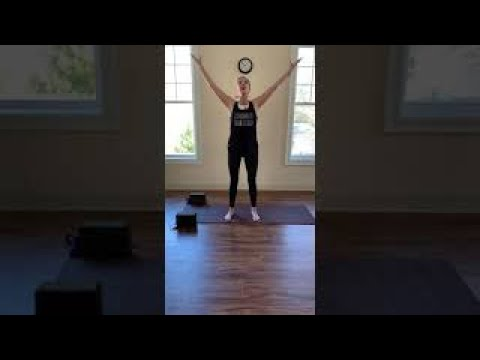 At Home Workout - Danielle's YogaBack - March 26th