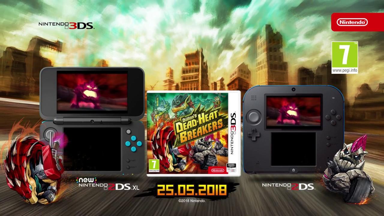 Dillon's Dead-Heat Breakers - Bande-annonce de lancement (Nintendo 3DS)