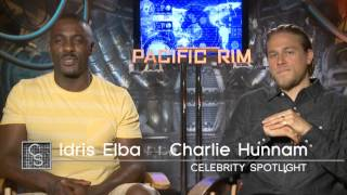 Pacific Rim Shout Out - Idris Elba and Charlie Hunnam