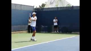 Novak Djokovic 2013 Practice Movement Slow Motion Cincinnati