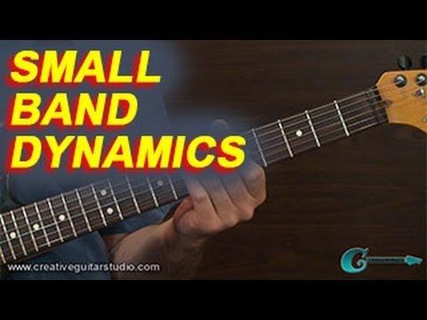 RHYTHM GUITAR: Small Band Dynamics