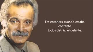 Georges Brassens -Le petit cheval- (El caballito) Subtitulado al castellano.