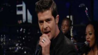 "Robin Thicke sings ""Sex Therapy"" Live.mp4"