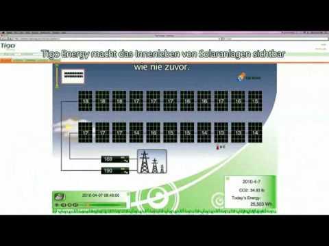 Tigo Energy Produktvideo (Komplett in Deutsch)