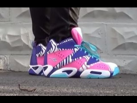 5fc945c1558e Reebok Classics Kamikaze Zebra Craze GS Sneaker Review With Dj Delz -  YouTube