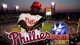 Phillies Baseball 2017 - MLB The Show 17 vs Atlanta Braves (Game 2)