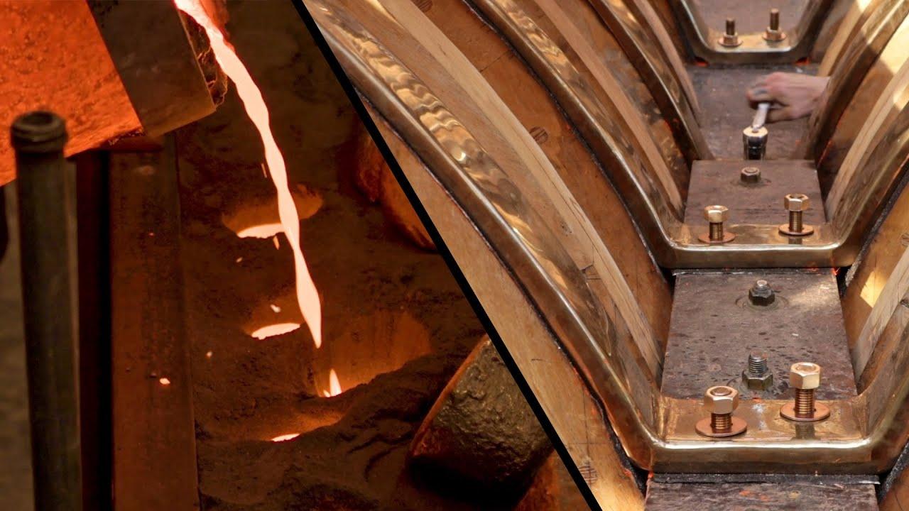 Pouring Bronze / Fastening Floors - Wooden Boat Rebuild (EP81)
