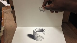 Cool 3D Trick Art - Anamorphic Illusion