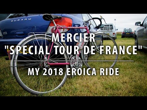 "1973 Mercier ""Special Tour De France"" - My 2018 Eroica Ride"