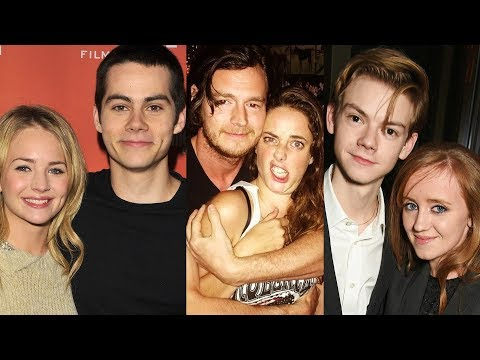 The Maze Runner ... and their real life partners
