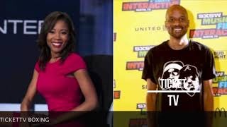 BREAKING NEWS! EX-ESPN EMPLOYEE ADRIENNE LAWRENCE ACCUSES BOMANI JONES OF STARING AT HER INTENSELY!