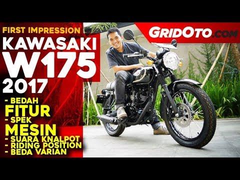 Kawasaki W175 2017 l First Impression | GridOto