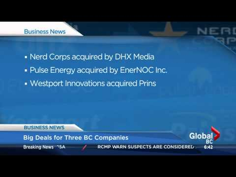 BIV on Global BC Dec 3 2014 Big BC deals