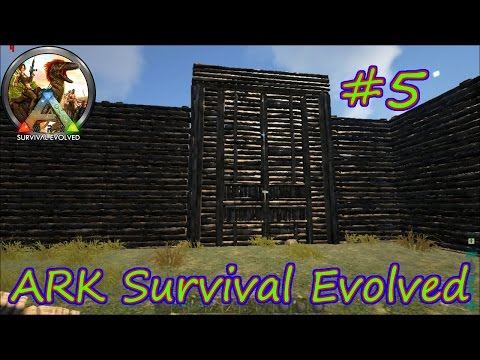 ARK SURVIVAL EVOLVED - Загон для динозавров #5