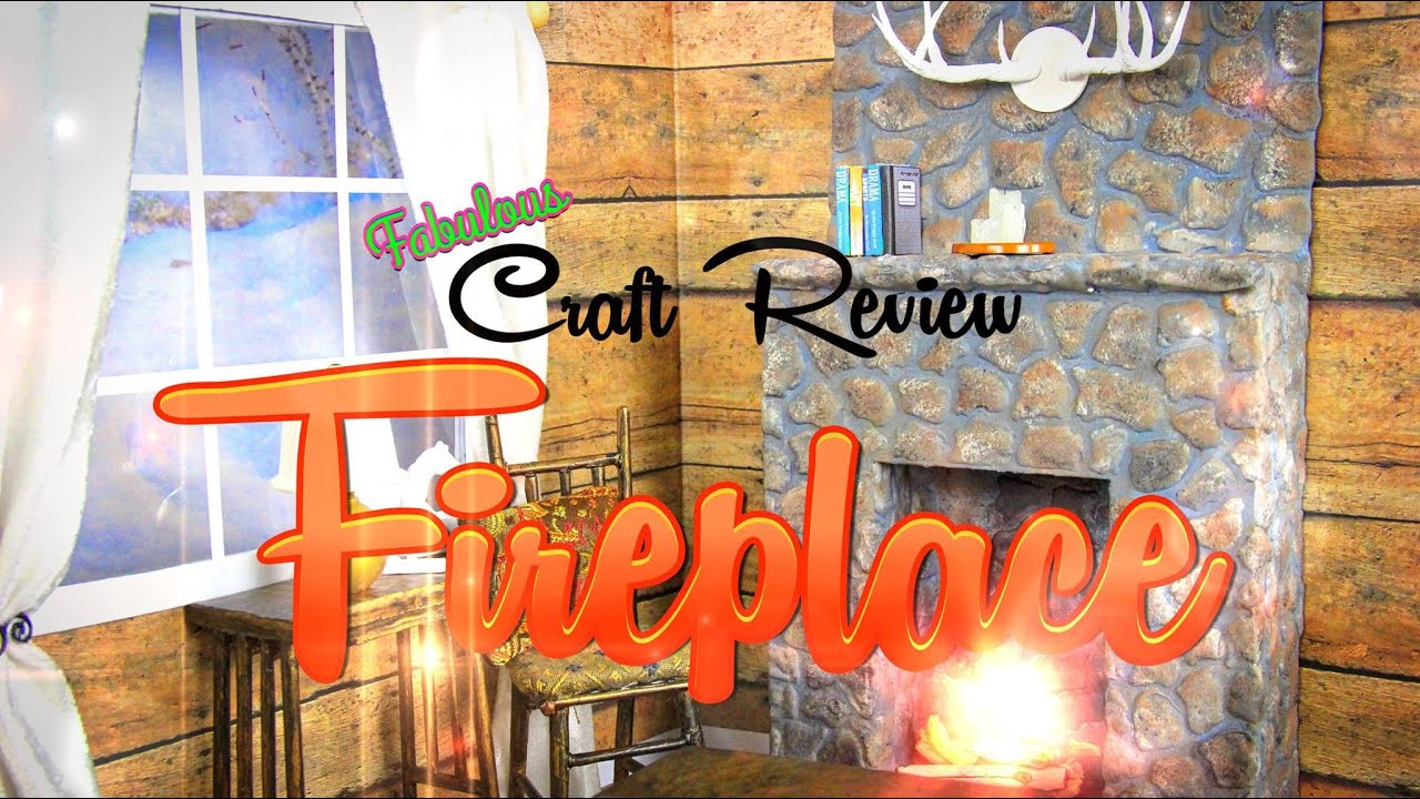 Fabulous Craft Review: Doll Fireplace - YouTube