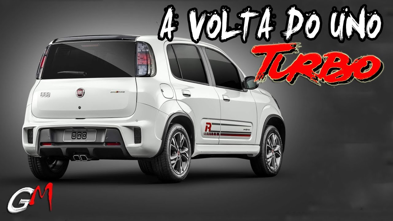 Vem Ai O Novo Fiat Uno Turbo Mas Nem Tudo Sao Flores Youtube