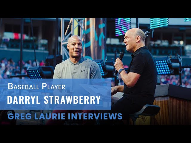 Baseball Legend Darryl Strawberry Interview:  Icons of Faith Series