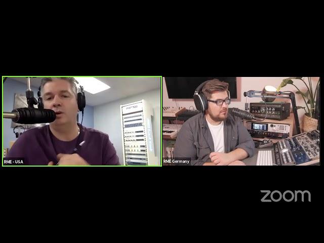 RME Audio Extravaganza Live Stream